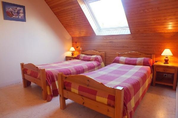 Chambre 2 lits 90x190