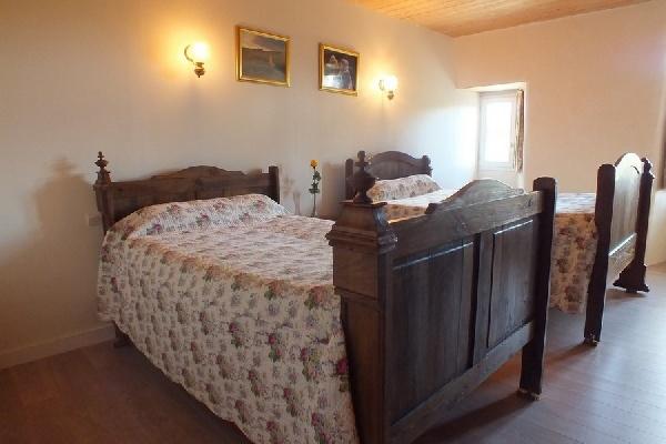 Chambre 2 lits 120x190